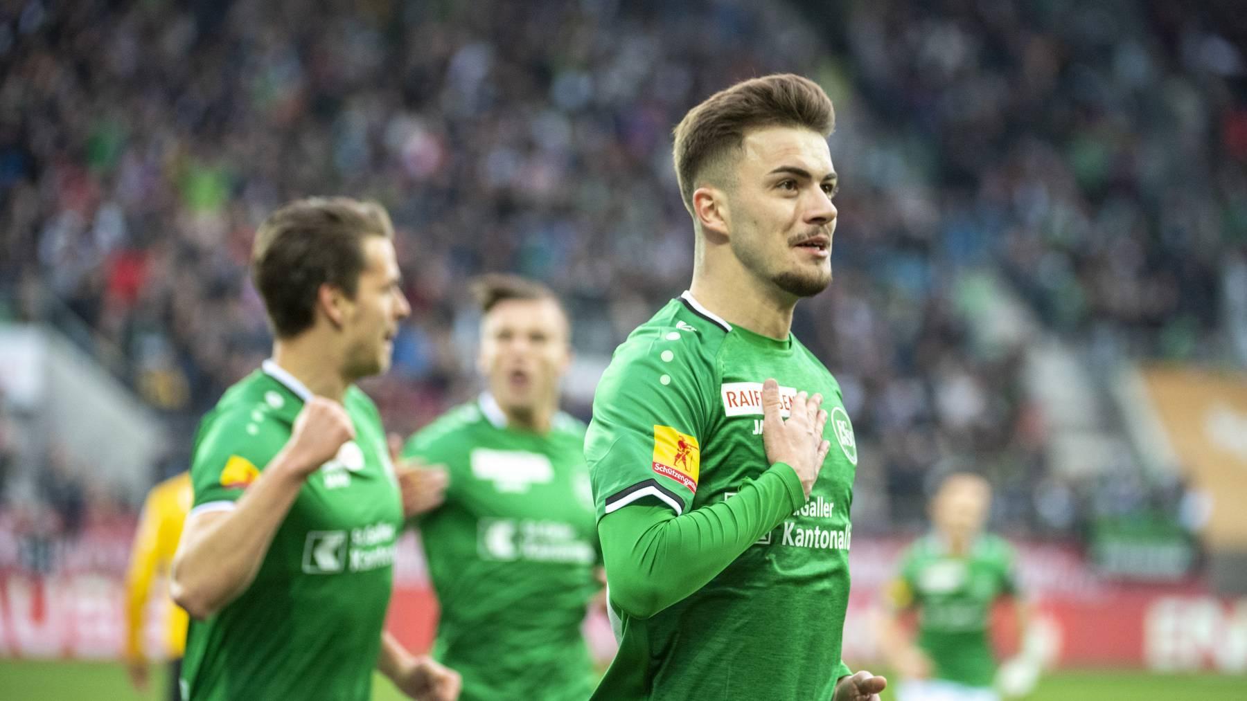 Der FC St.Gallen will mit Testspielen im Rhythmus bleiben.
