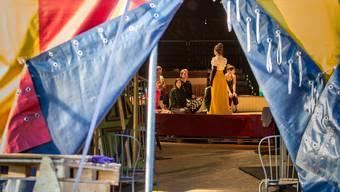 Probebesuch bei Die Zirkusprinzessin der Bühne Burgäschi