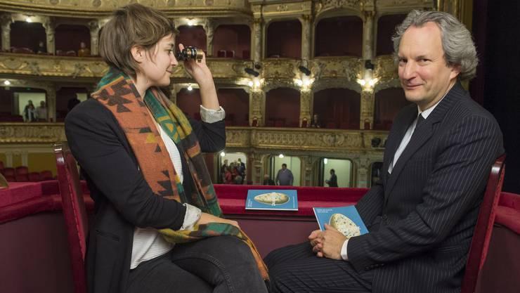 Aline Wüst und Christian Berzins in der Oper
