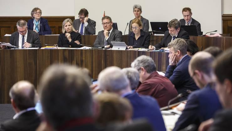 Der Kantonsrat und die Regierung hatten an der Session lange zu diskutieren.