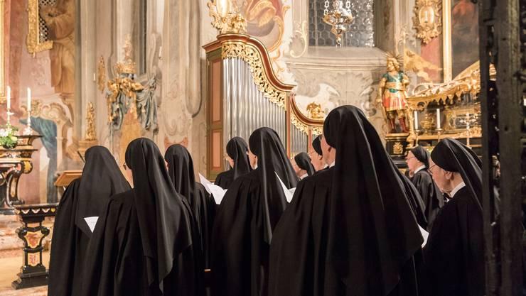 Seit einem Jahr verbinden die Benediktinerinnen im Kloster Fahr das Gebet am Donnerstag jede Woche mit einer erweiterten Komplet um 19.30 Uhr