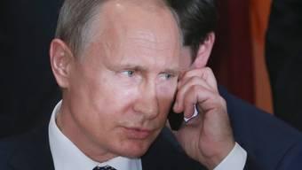 Wer ist am Apparat? Putin und Trump führen erstes Telefonat. (Archivbild)