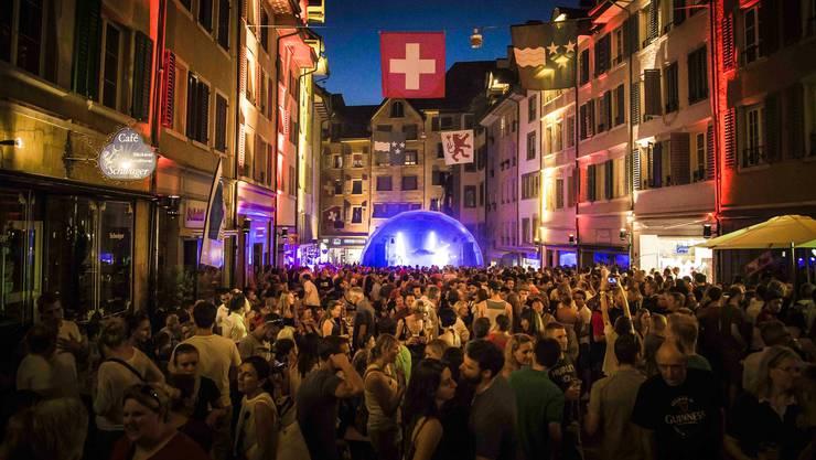 Dieses Jahr wird das Festival i de Marktgass für einmal viel kleiner ausfallen.