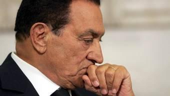 Der ägyptische Ex-Präsident Husni Mubarak (Archiv)