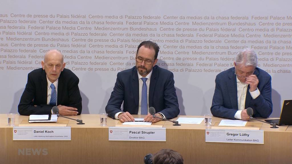 70-jähriger Tessiner: Erster Coronavirus-Fall in der Schweiz