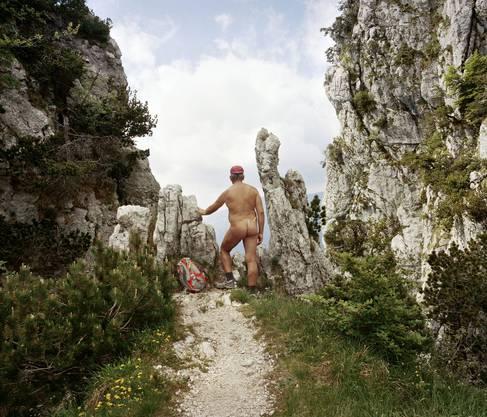 Bilder aus der Serie «Die Nacktwanderer», 2014