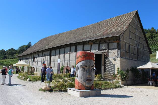 1584 erbautes Gebäude der Bergtrotte Osterfingen