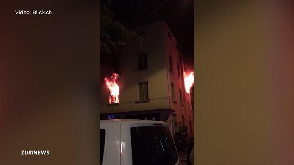 Zürich: Sechs Verletzte nach Brand im Kreis 4