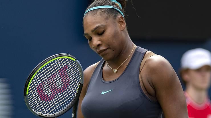 Serena Williams kämpft aktuell mit Rückenproblemen