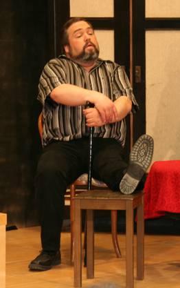 Aktuar Heinz Marti tritt aus dem Vorstand zurück, als Schauspieler bleibt er den Improvisorischen erhalten.