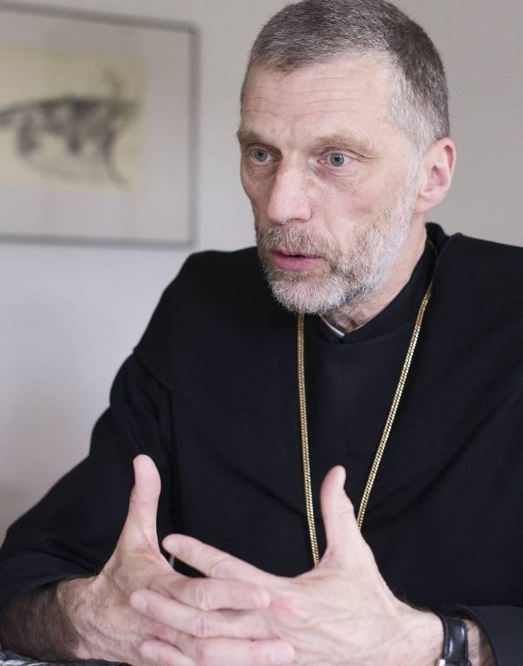 Abt des Benediktinerklosters Mariastein.