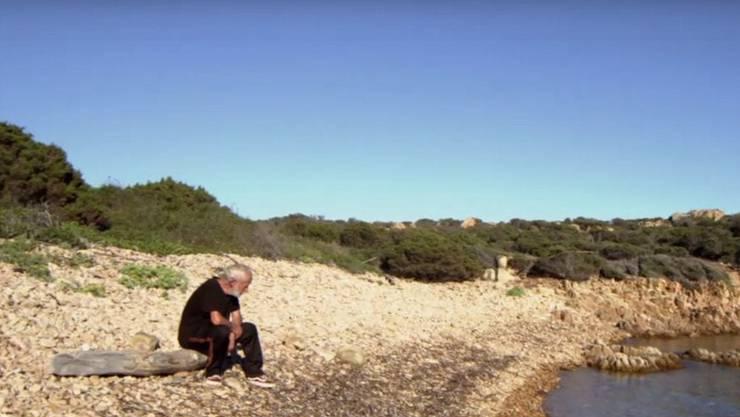 Mauro Morandi wählte die Einsamkeit – und bereut es bis heute nicht (Screenshot: arte.tv )