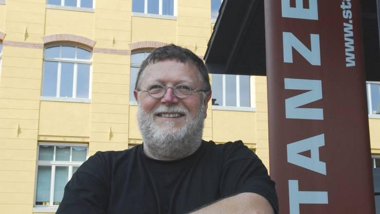 Ernst Hofstetter ist mit «Kulak Jazz» in die «Stanzerei» gezogen. Jetzt ist sogar ein kleines Festival angesagt.