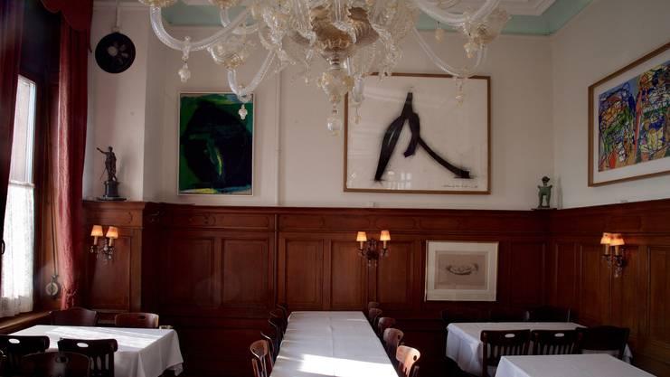 Das Restaurant Donati steckt voller historischer Details.