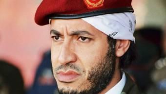 """""""Faktischer Amtsträger"""": Saadi al-Gaddafi (Aufnahme von 2011)"""