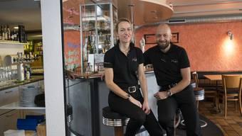 «Cho ässe, cho trinke, cho sy» bei Beatrice und Marco Glutz in der Pizzeria Höfli.