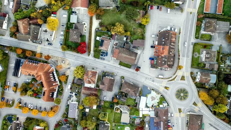 Das Zentrum von Subingen könnte schon bald komplett anders aussehen.