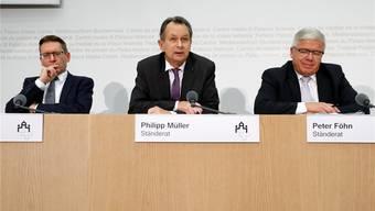 FDP-Ständerat Philipp Müller: «Es macht wenig Sinn, Vorschriften in Bereichen zu erlassen, wo bereits heute Fachkräfte mangeln.» PETER KLAUNZER/Keystone