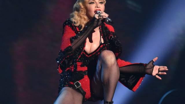 Auch eine Madonna wird mal tatterig (Archiv)