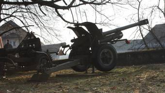 Artilleriepark auf der Krummturmschanze