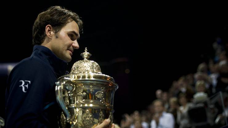 Wie oft gewann Rekordsieger Roger Federer die Swiss Indoors bisher?
