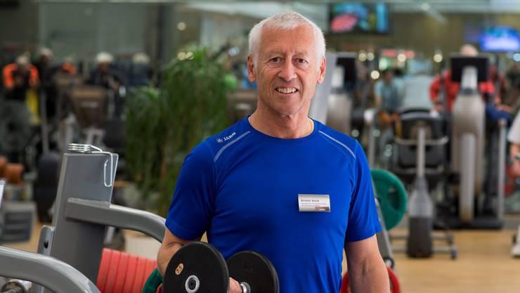 Seit 30 Jahren betreibt Armin Vock das Fitnesscenter Baden. Hier eine Aufnahme von vor vier Jahren, als sein Fitnesscenter den 25. Geburtstag feierte.