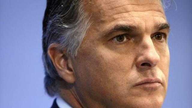 Reagiert dünnhäutig auf Fragen: UBS-Chef Sergio Ermotti. Foto: Walter Bieri - Keystone