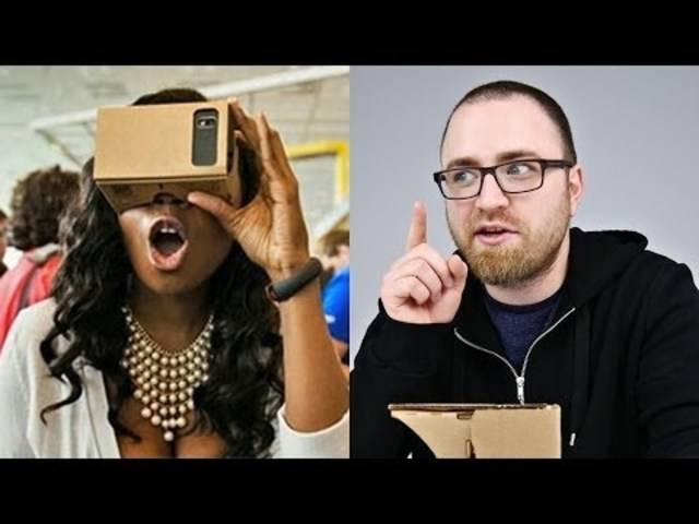Virtual-Reality-Brille aus Karton: So funktioniert das Google Cardboard.