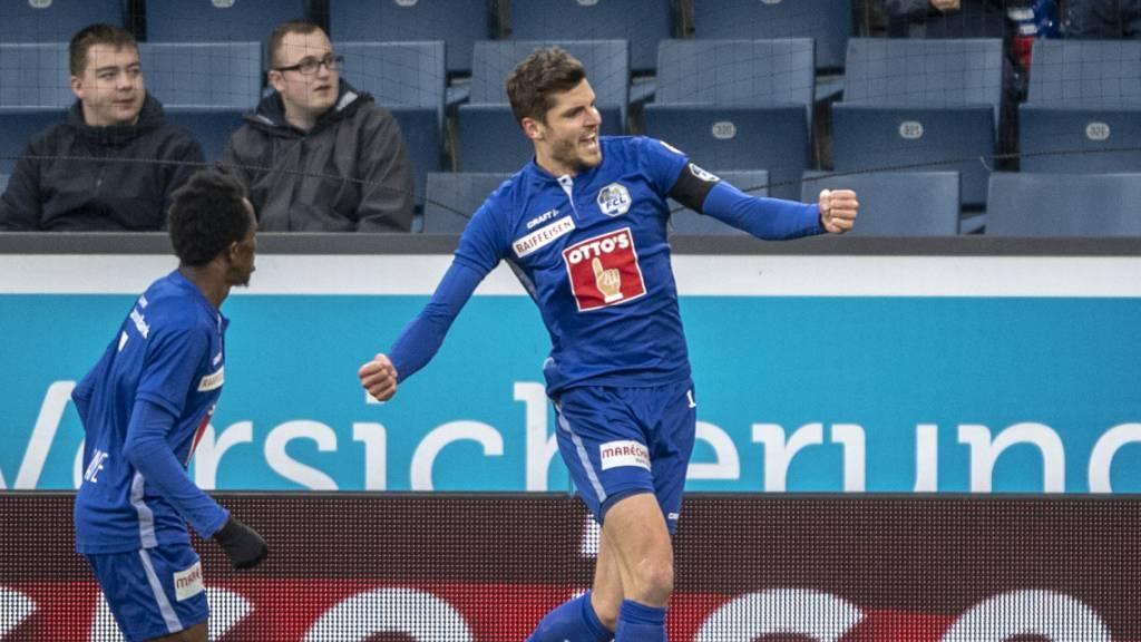 Basel verliert in Luzern, YB mit torlosem Remis in Lugano
