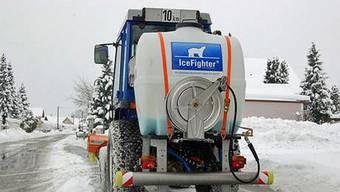 In diesem Winter soll ein Sole-Sprühgerät eingesetzt werden. (Symbolbild)