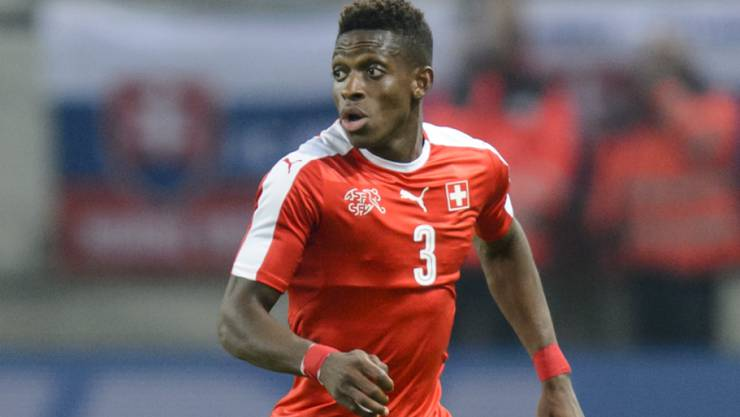 François Moubandje im letzten November bei einem Einsatz mit der Schweizer Nationalmannschaft