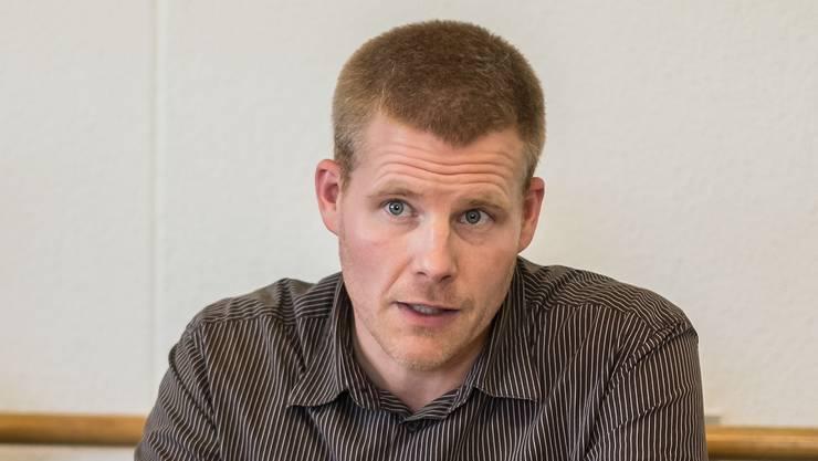 Matthias Hubeli ist der Geschäftsführer vom ESAF 2022 in Pratteln.