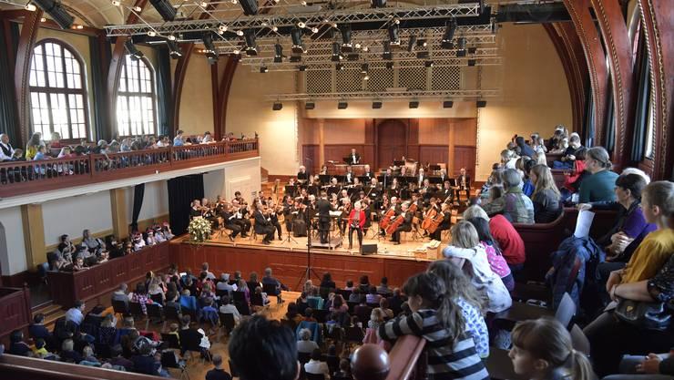 Stadtorchester Solothurn spielt ein Neujahrskonzert. (Archivbild)