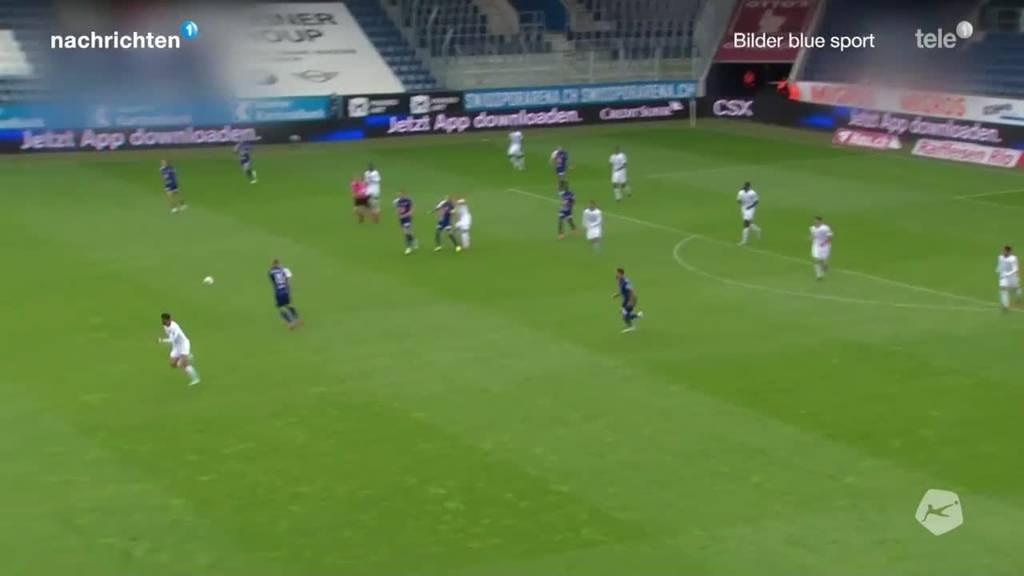 Fussball Super League: FC Luzern gegen Lausanne
