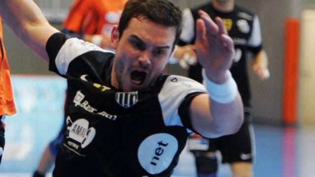 Michal Svajlen erzielte vier Treffer für Pfadi