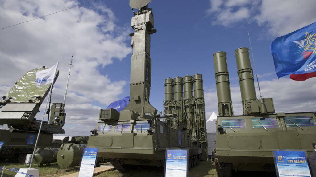 Das russische Flugabwehrsystem des Typs S-300 ist mit der US-Raketenabwehr Patriot vergleichbar und hat eine sehr hohe Erfolgsrate. (Archivbild)