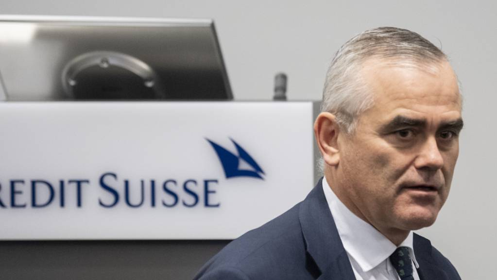 Der seit rund 100 Tagen amtierende Konzernchef der Grossbank CS, Thomas Gottstein, kündigt die Schliessung weiterer Bankfilialen sowie dauerhaftes Homeoffice für einen Teil der Belegschaft an. (Archivbild)
