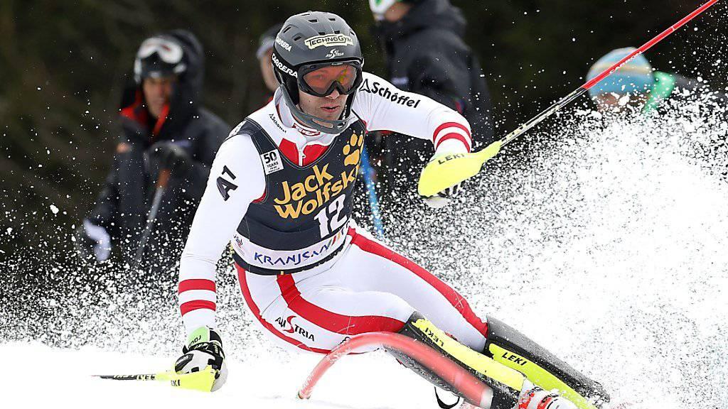 Gewann in Kranjska Gora sein erstes Weltcuprennen: der 23-jährige Tiroler Michael Matt