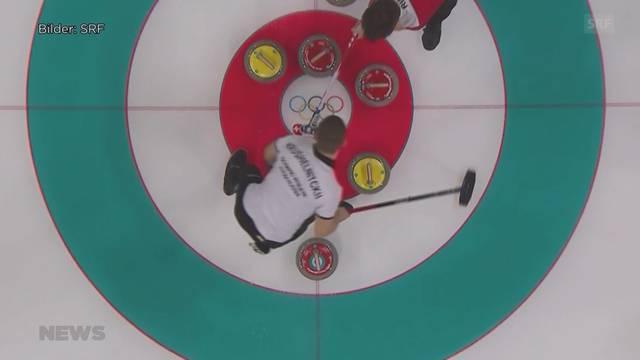 Schweizer Curler erreichen Halbfinal