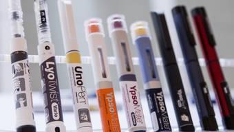 Autoinjektoren des Insulinpumpen-Herstellers Ypsomed