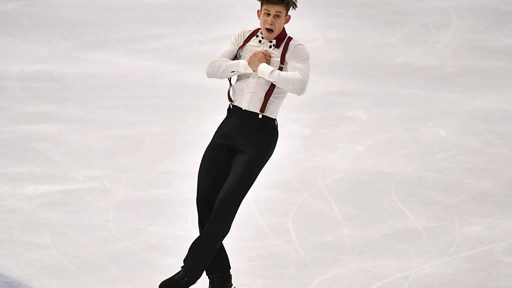 Britschgi holt Olympia-Quotenplatz - Gold an Chen