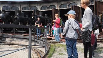 Tag der offenen Tore im Bahnpark Region Brugg