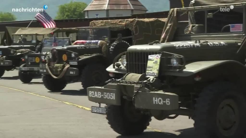 Auf Besuch beim Militärfahrzeugtreffen in Ennetbürgen