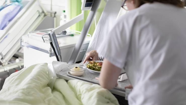 Der Mann mit Schluckstörung erstickte am nicht pürierten Essen. (Symbolbild)