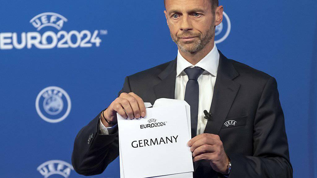 Laut türkischen Medien soll UEFA-Präsident Aleksander Ceferin Schuld sein am Scheitern der türkischen Kandidatur für die EM 2024