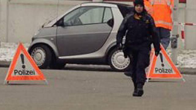 Polizei vor Ort