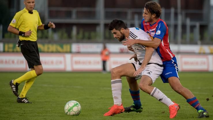 Marko Muslin ist unter Francesco Gabriele neu im offensiven Mittelfeld zuhause.