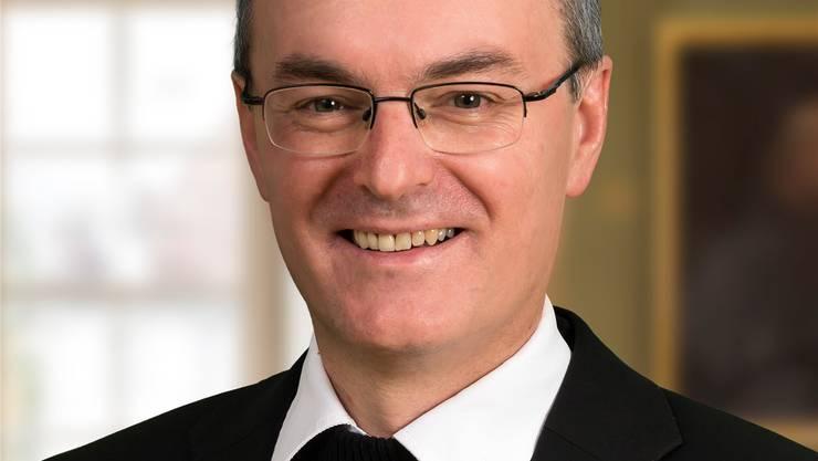 Generalvikar Markus Thürig. Felix Gerber