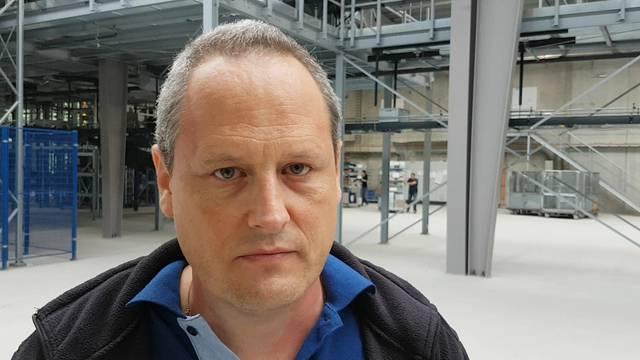 Michel Boha, Leiter Logistik bei Digitec Galaxus
