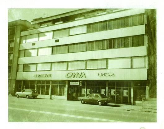 Die ersten Räume von Hans Schaffners Firma in Solothurn